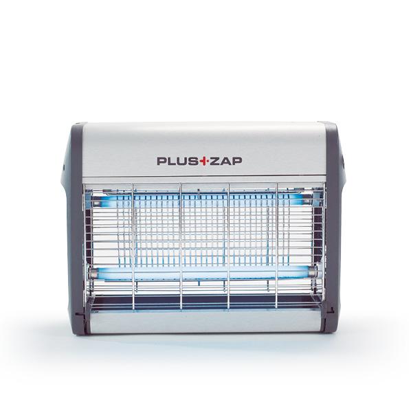 PlusZap 16W Elektromos rovarcsapda szemből nézet